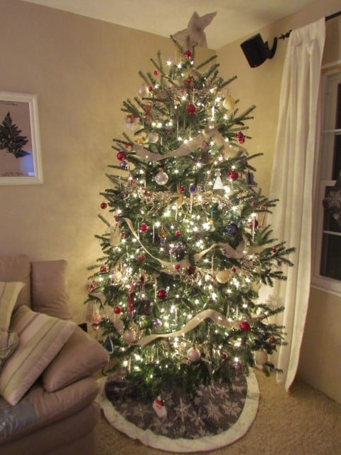 Evolution of a christmas tree making your tree glow for White christmas tree pinterest