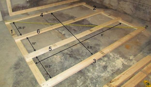 How to make a basement storage shelf for Cost to build your own garage