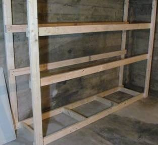 ... Build This Basement Storage In One Night For Only $60
