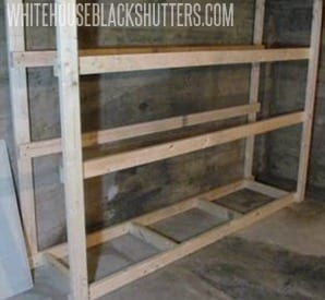 build this basement storage in one night for only $60