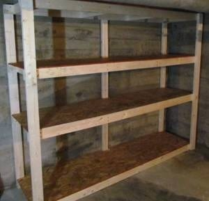 Build This Basement Storage In One Night For Only $60 ...