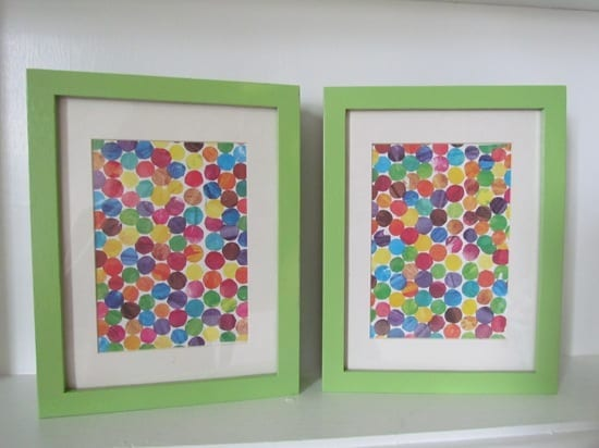 Very Hungry Caterpillar Upcycled Wall Art