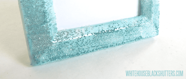 Guest Post: Glitter Ombre Picture Frame from White House Black ...
