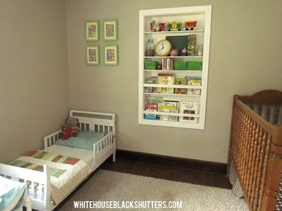 before - kids' room
