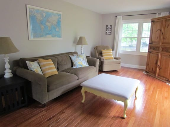 Second Hand Family Room Makeover