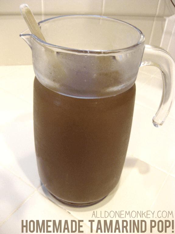Homemade Tamarind Pop