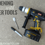 Gardening with Power Tools