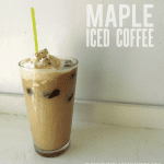 Homemade Maple Iced Coffee