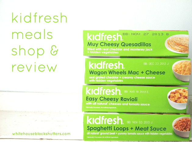 Finally, a Healthy Frozen Kid's Meal! (with Kidfresh)