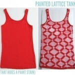 Anthropologie Inspired Lattice Tank Top
