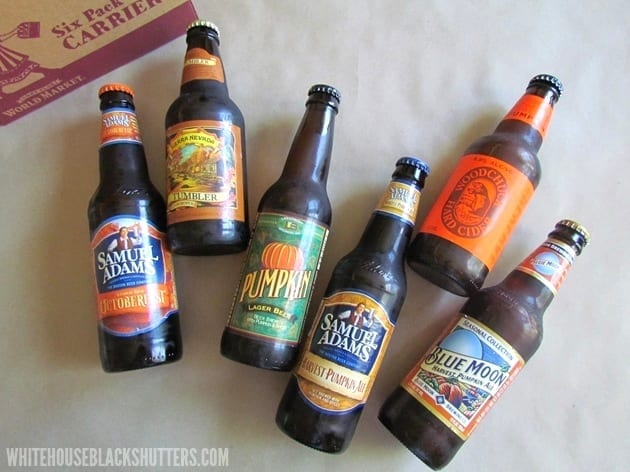 fall beer tasting party with @worldmarket and @whbsblog!