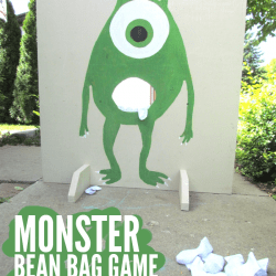 love this monster bean bag game!