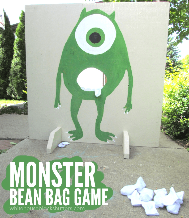 love this monster bean bag game!