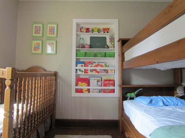 Kids Bedroom Toy Storage how to keep the toys from taking over - white house black shutters