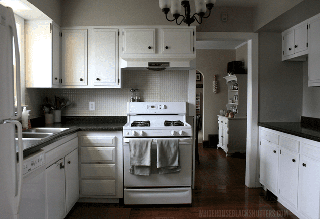 Black Kitchen Walls White Cabinets how to afford a kitchen remodel