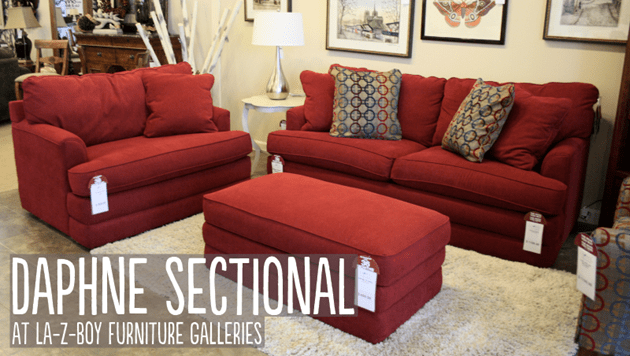 Daphne Sectional at La-Z-Boy Furniture Galleries