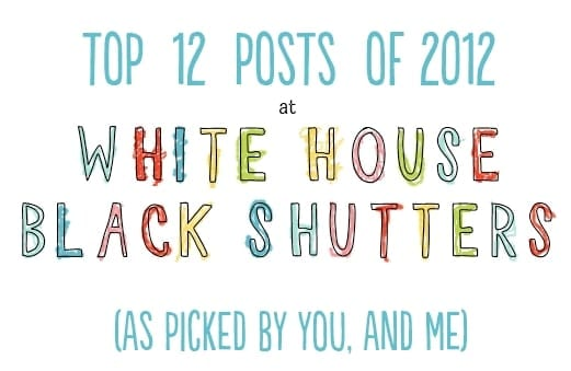 Top 12 Posts and Projects of 2012