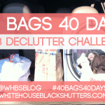 40 BAGS 40 DAYS Week One Progress
