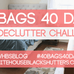 40 BAGS 40 DAYS Week Two Progress