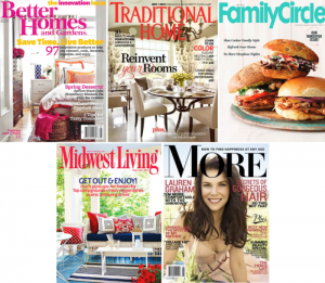 our mom cave was featured in the following magazines!