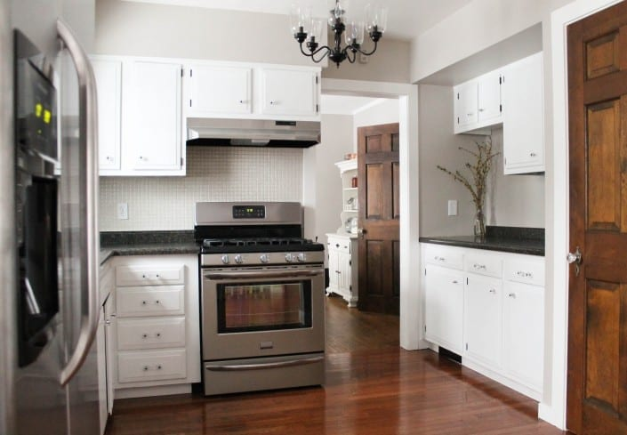 Spectacular by reusing items and waiting patiently this kitchen only cost to renovate WOW