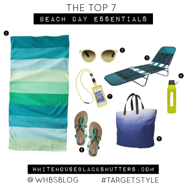 top 7 #summer #beach essentials, via @whbsblog #targetstyle