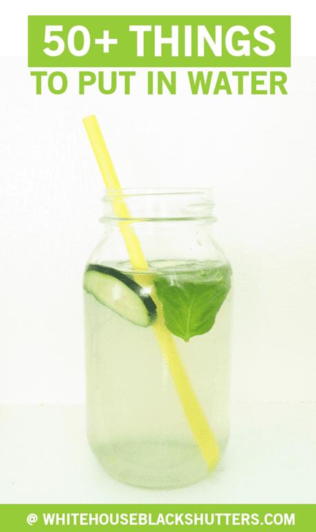 50 Ways To Make Water Taste Better White House Black