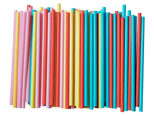 big straws perfect for summer drinks or smoothies, $1.99 for 100 at IKEA