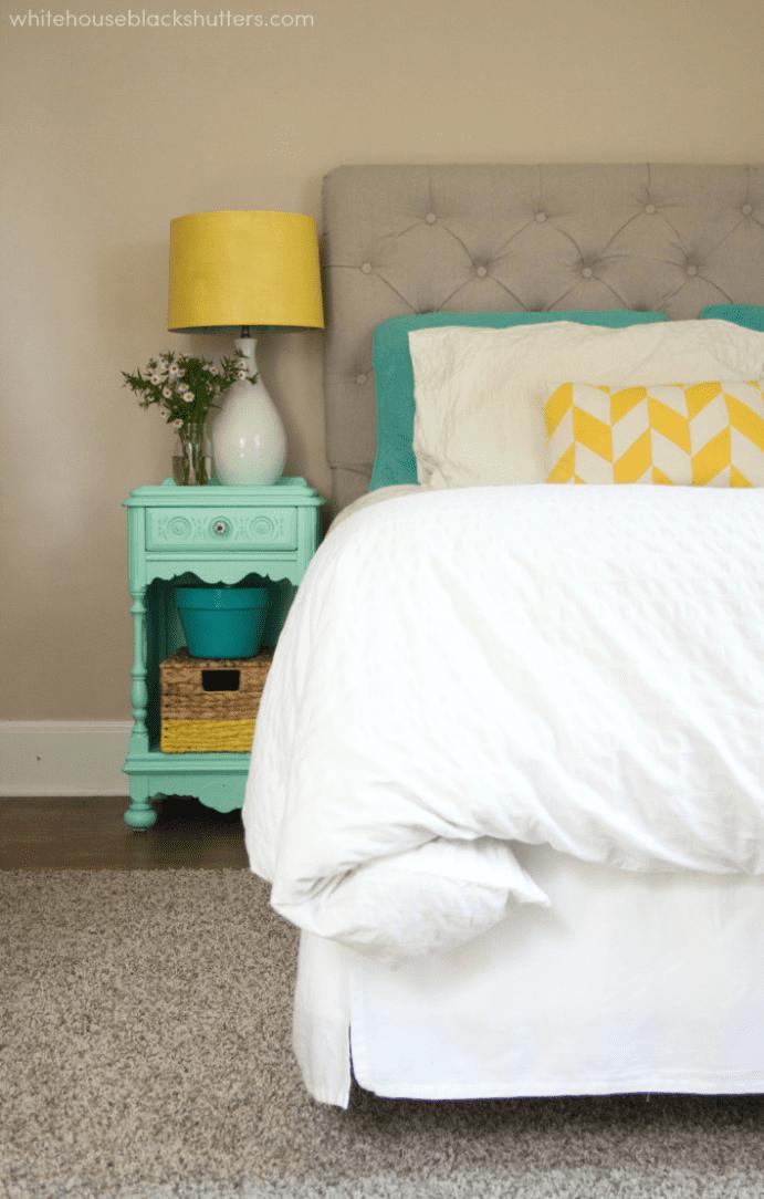 Sunny Bedroom Update