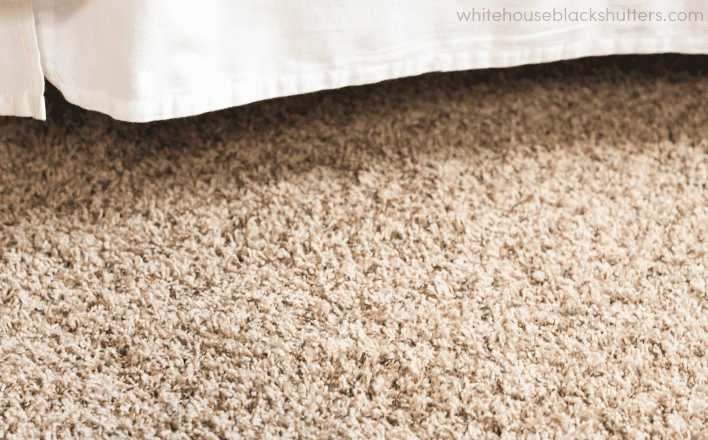 colorful and sunny bedroom makeover, with a rug giveaway!