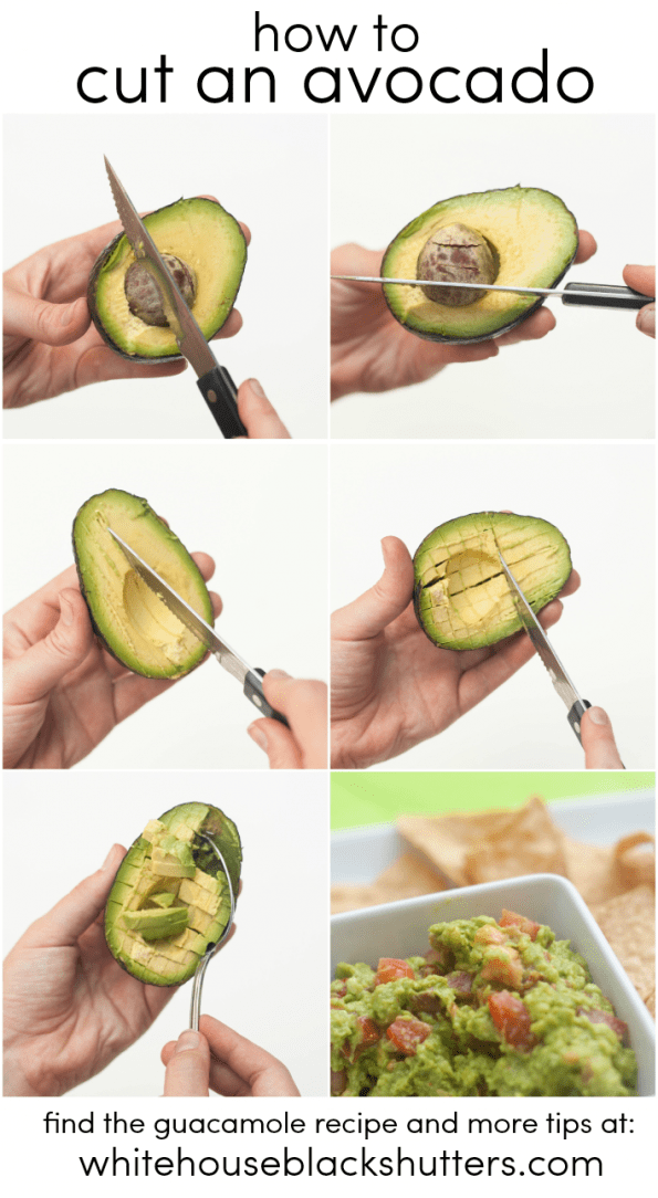 learn how to cut an avocado, even not-so-ripe ones! Can't believe I didn't know this trick before