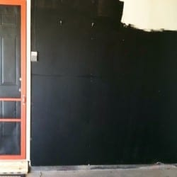 How to Make a Chalkboard Wall and Not Have Dust in the House