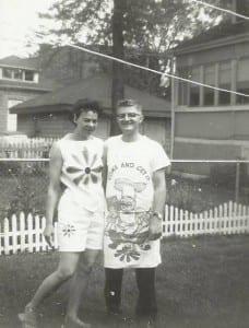Grandma and Grandpa, September 1962