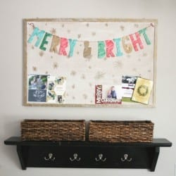 DIY Sharpie Letter Garland with Free Printable