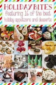 16 great holiday app and dessert recipes and an amazing prize package!