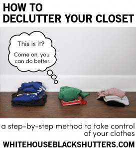 Ahh, I need this! How to declutter your closet and stop letting clothes consume you.