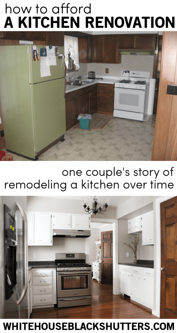 Great post! One couple's story of renovating a kitchen over time.