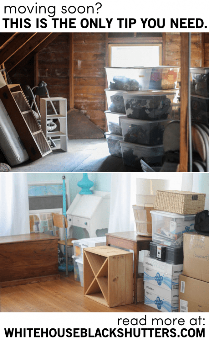 the only moving tip you need by @whbsblog. #organization #storage #simpletips