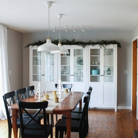 A Holiday Ready Dining Room Reveal