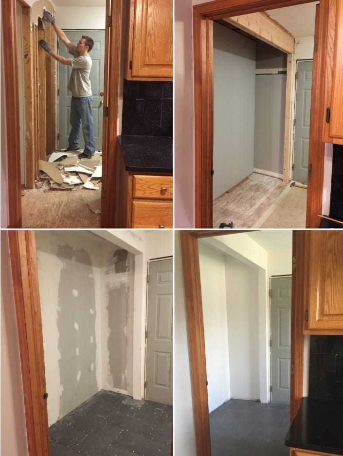 Laundry Room Renovation Update
