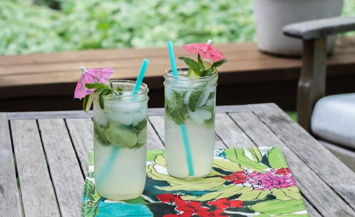 Coconut Mason Jar Mojito Recipe