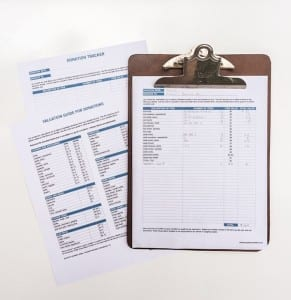 You can deduct charitable donations from your taxable income? Use this handy printable to keep track of items as you donate them.