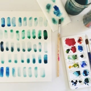 always wanted to paint? take a free watercolor course here..