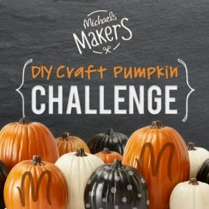 Michaels Makers pumpkin challenge, 50 pumpkin projects for inspiration!