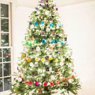 Colorful Photo Christmas Tree