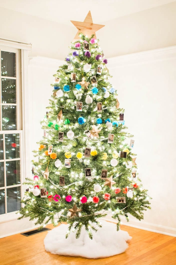 Colorful Photo Christmas Tree