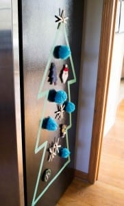 repurpose your favorite handmade hand-me-down and handmade ornaments into magnets!