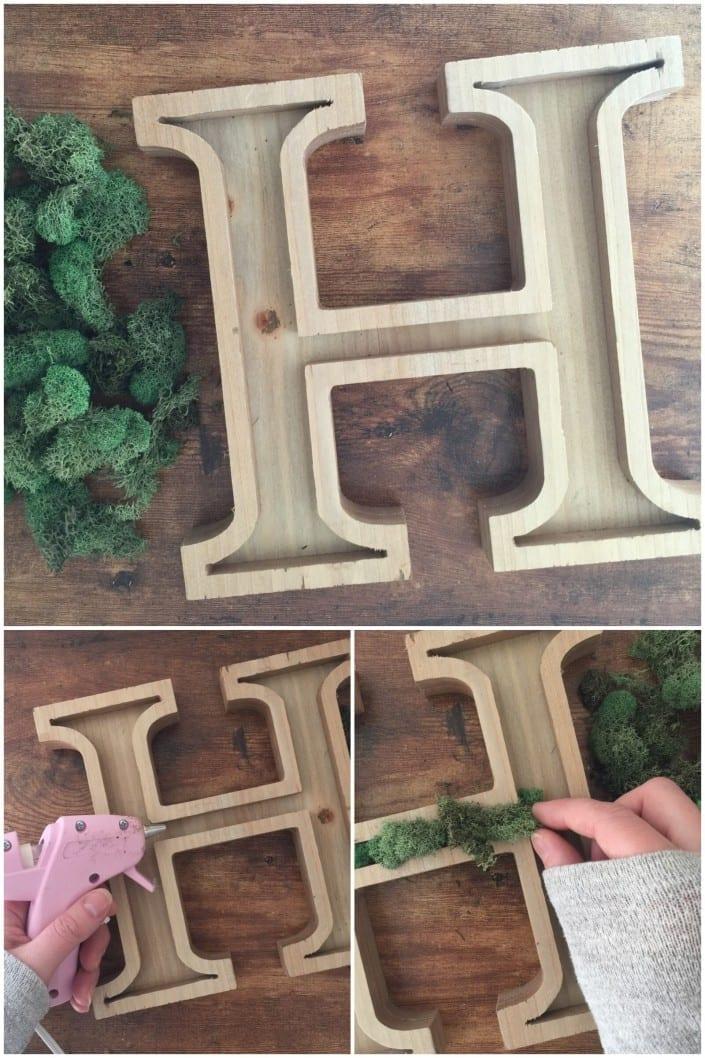 wooden letter art wooden letter art