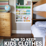 How to Keep Kids Clothes from Taking Over