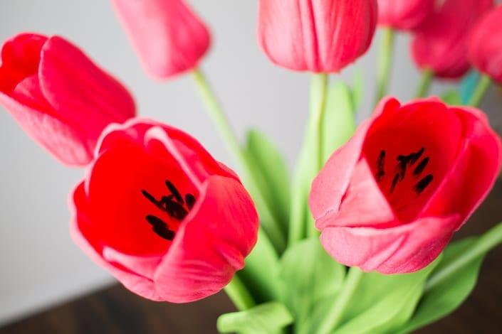 DIY Faux Tulip Arrangement For Spring - White House Black ...
